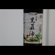 [自然食] 冷壓黑麻油